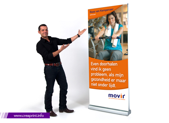 Roll Up Banner, Advertising Display, Exhibition Banner, Exhibition Stand, Advertising Stand